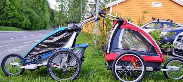 Test av sportsvogner for barn: Chariot CX2, Chariot Cougar 2, Nordic Cab