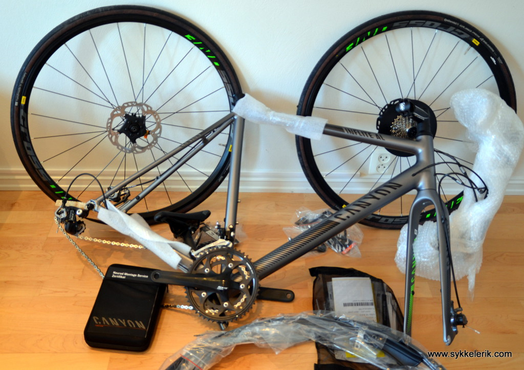 Å skru sammen en Canyon-sykkel går overraskende fort!