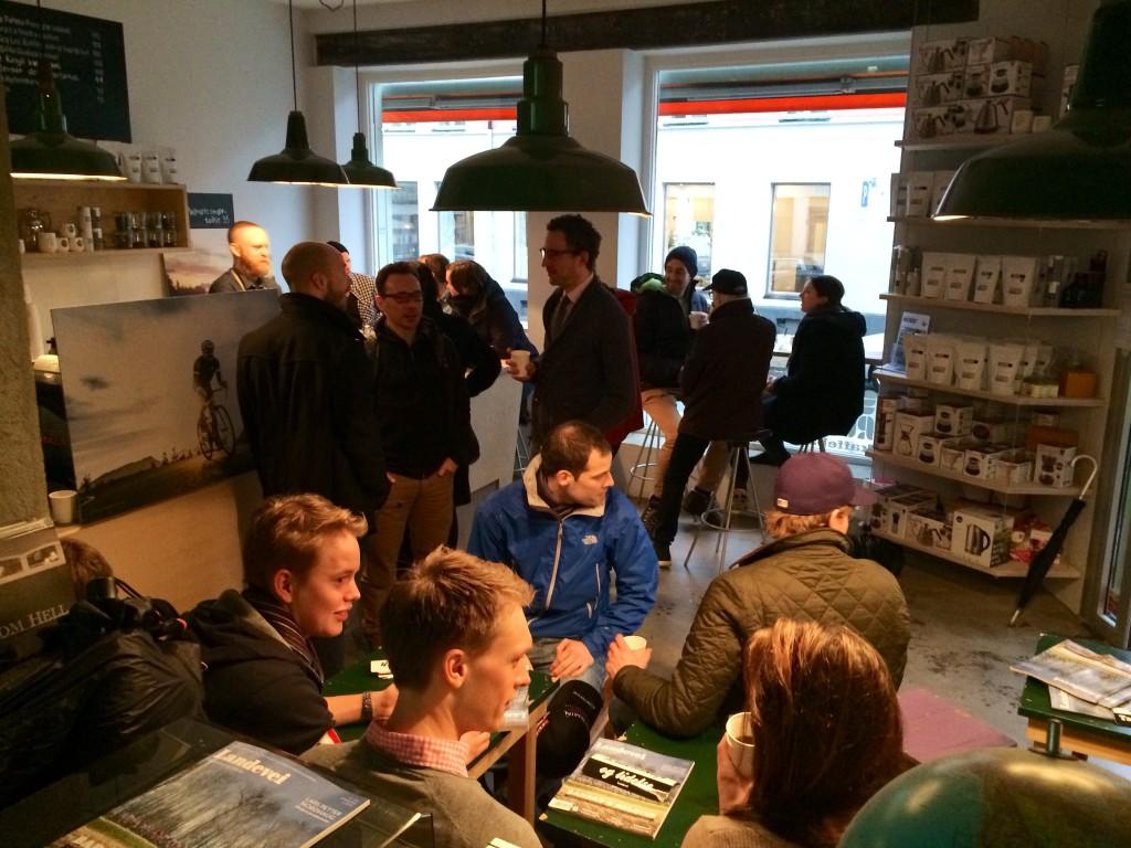 På tross av håpløst vær i Oslo var det overraskende mange som fant veien til Supreme Roastworks!