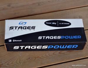 Stages krankarm fortsatt pent innpakket i eske.