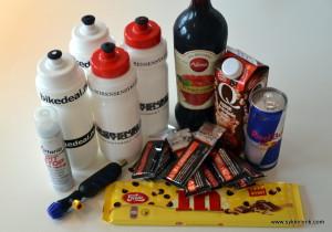 Saft, Winforce og Red Bull tar meg til mål - og i mål blir det sjokolademelk og sjokolade!