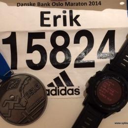 Løpsrapport: Oslo Maraton 20.09.2014
