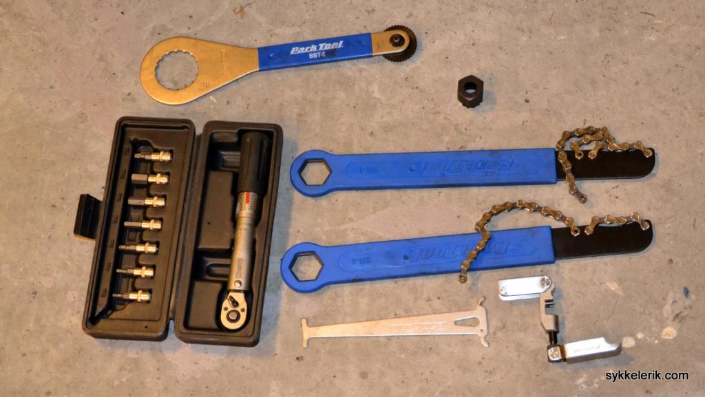 Diverse verktøy gjør det mye enklere å utføre periodisk vedlikehold.