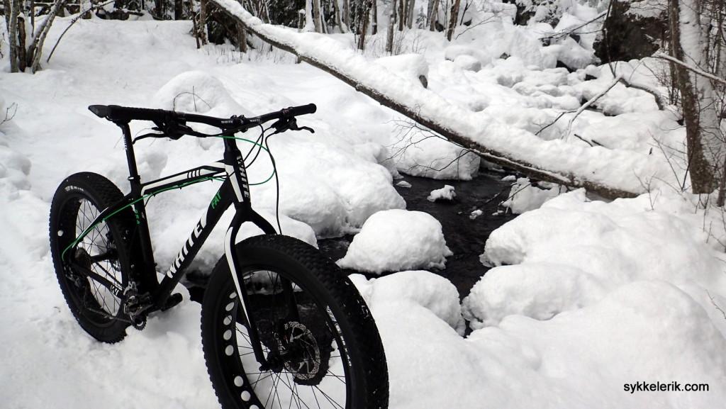 Med fatbike kommer du deg rundt i vinterterrenget på en helt ny måte!