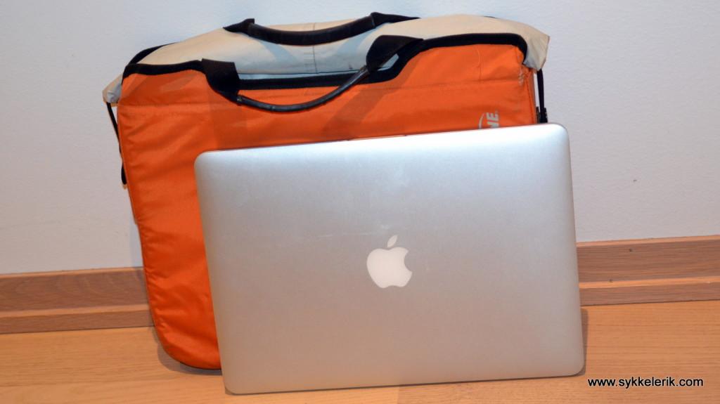 En Sealline vanntett veske for laptop kan være smart, særlig dersom pendlersekken ikke er vanntett. Dessverre tar den fort mye plass.