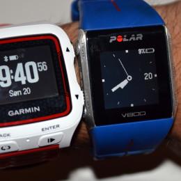Test av multisportklokker: Polar V800 vs Garmin Forerunner 920XT