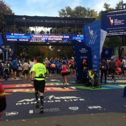 Løpsrapport: New York City Marathon 01.11.2015