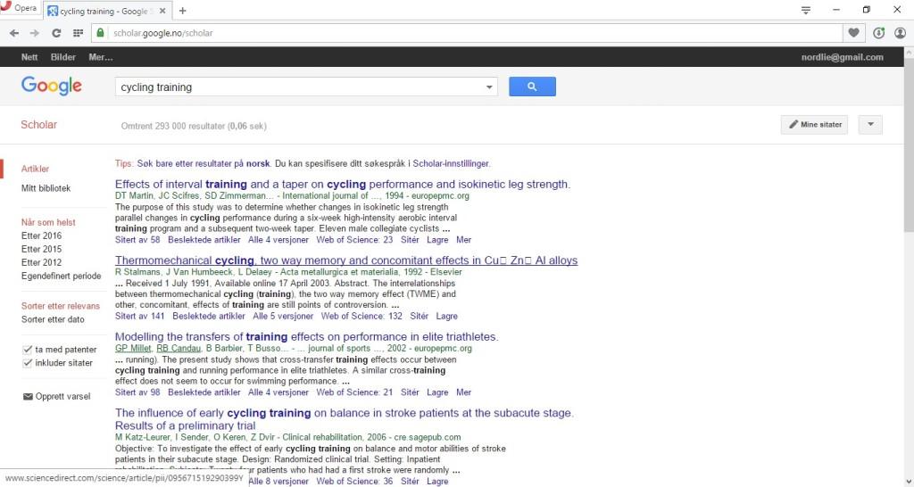 Google Scholar gir deg tilgang til akademiske artikler om nesten hva som helst. Tyngre lesestoff, naturlig nok, men også mer substans enn tøyseartikler i dagspressen.