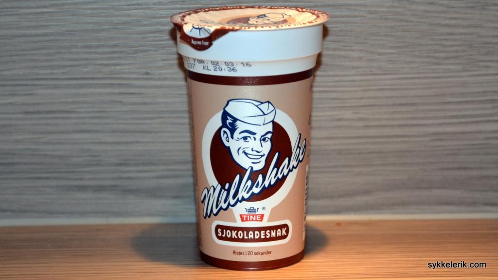 Tine Milkshake. Favoritten!