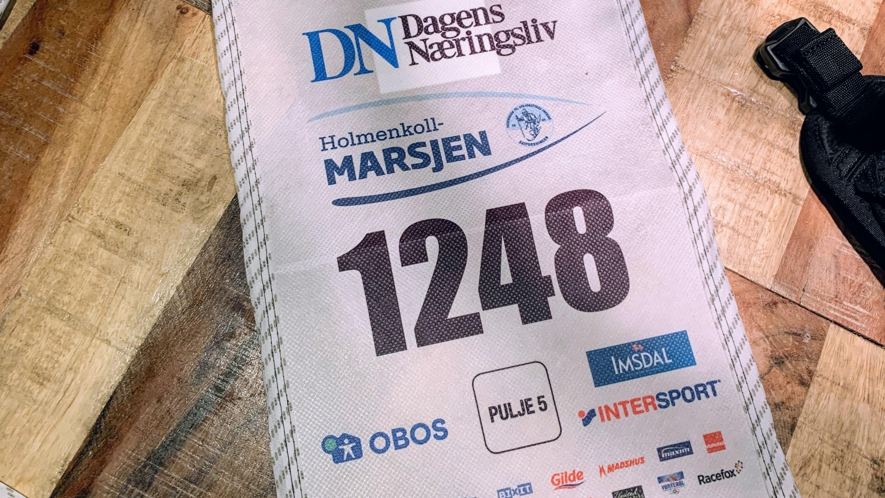 Rennrapport: Holmenkollmarsjen 09.02.2019
