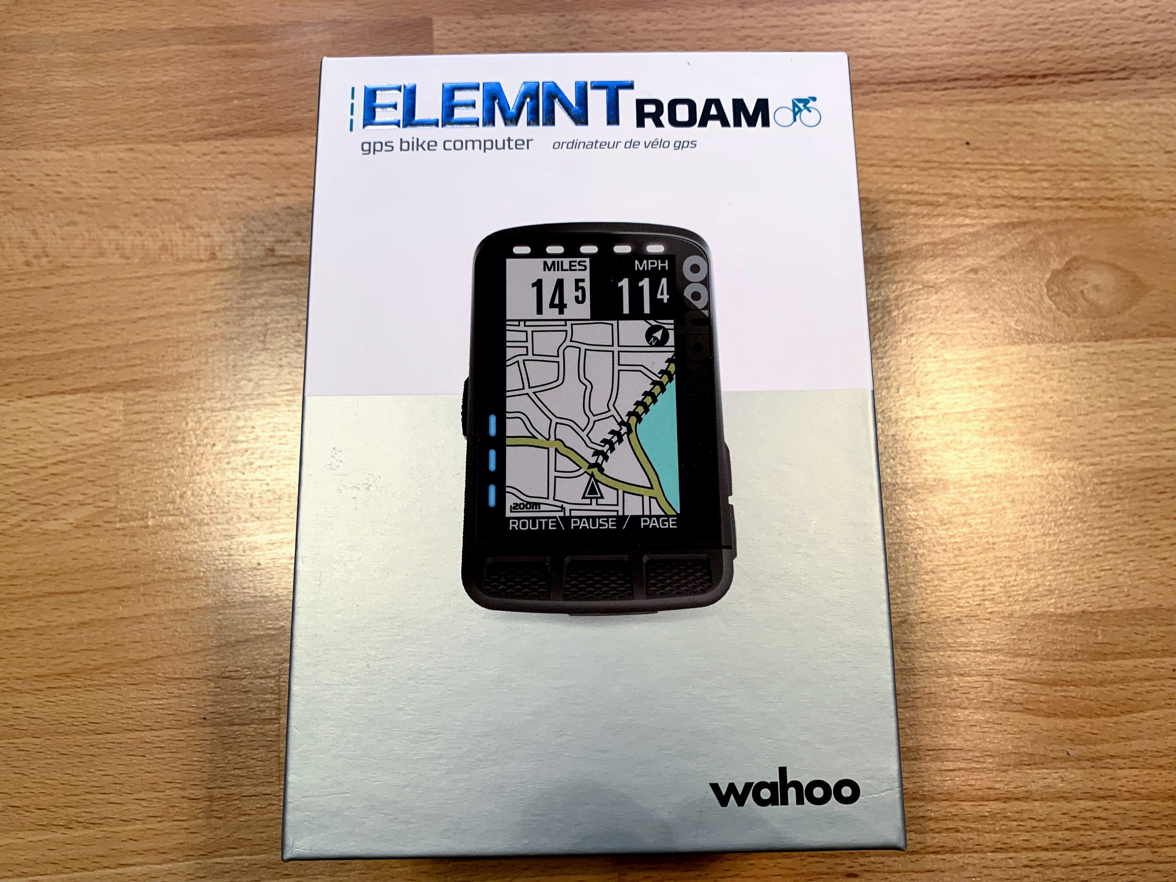 Test av Wahoo ELEMNT Roam
